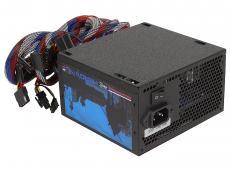 Блок питания Aerocool 675W Retail HERO 675 , ATX v2.3, 80+ Bronze, 12cm blue LED fan, Haswell Ready, A.PFC, 2x PCI-E (6+2-Pin), 6x SATA, 4x MOLEX