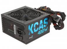 Блок питания Aerocool 400W Retail KCAS-400W ATX v2.3, 80+ Bronze, A.PFC, fan 12cm, Haswell Ready, 1x PCI-E (6+2-Pin), 6x SATA, 3x MOLEX