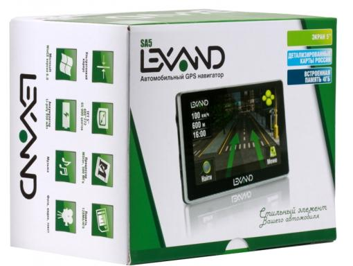 Навигатор LEXAND SA5