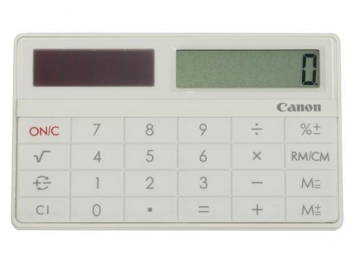 canon x-mark i card wh кальк.карманный,премиум класс белый,8 разр