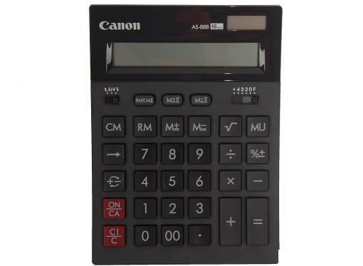 canon as-888-bk черный кальк.наст.16 разр.2-ое пит.2 памяти