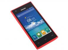 смартфон philips s309 (red) 2sim/ 4