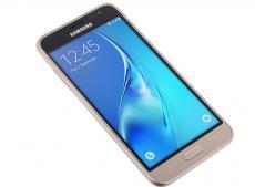 Смартфон Samsung Galaxy J3 (2016) SM-J320F (золотой) DS