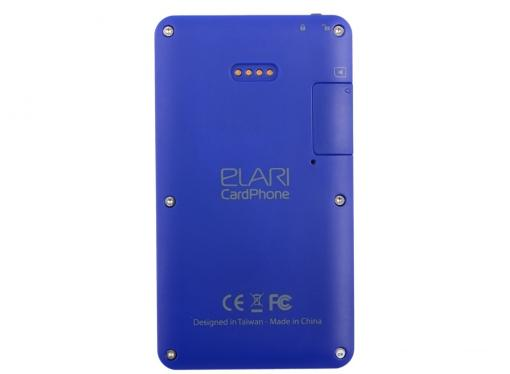 мобильный телефон elari cardphone blue