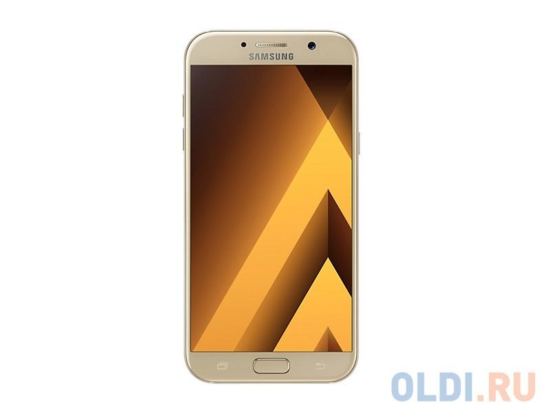 Смартфон Samsung Galaxy A7 (2017) SM-A720F золотой