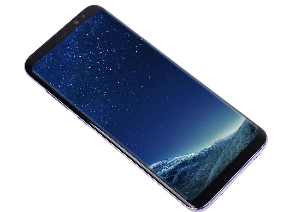 Смартфон Samsung G955F GALAXY S8+  SM-G955 мистический аметист Samsung Exynos 9 Octa 8895 (2.3/1.7 ГГц)/64 Gb/4 Gb/6.2