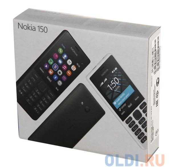 Мобильный телефон NOKIA 150 DS черный 2.4