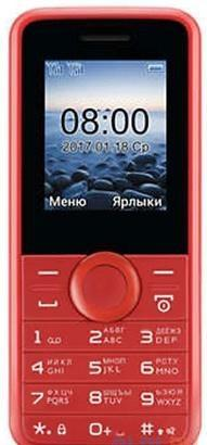 Мобильный телефон Philips E106 Red 1.77