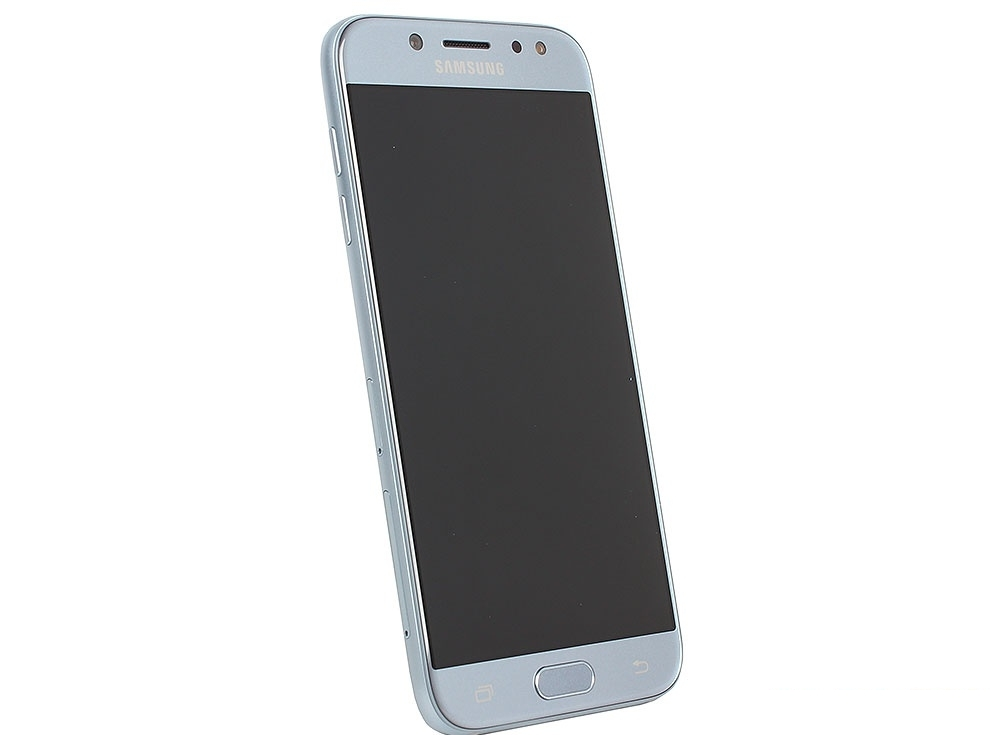 Смартфон Samsung Galaxy J5 (2017) SM-J530F 16Gb голубой моноблок 3G 4G 2Sim 5.2
