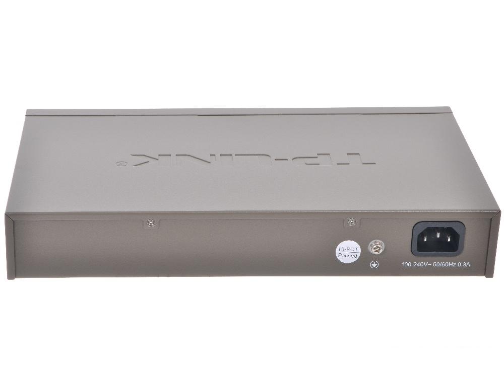 Коммутатор TP-LINK TL-SF1024D 24-портовый 10/100 Мбит/с настольный/монтируемый в стойку коммутатор