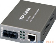 медиаконвертер tp-link mc100cm  10/100mbps rj45 to 100mbps multi-mode sc fiber converter, full-duplex,up to 2km