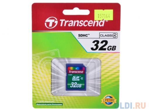 SDHC Transcend 32Gb Class 4 (TS32GSDHC4)