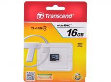 MicroSDHC Transcend 16GB Class4 (TS16GUSDC4)