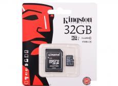 MicroSDHC Kingston 32GB Class10 G2+ Адаптер (SDC10G2/32GB)