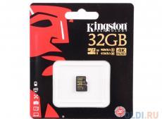 MicroSDHC Kingston 32GB Class10 UHS-I (U3 G) (SDCG/32GBSP)
