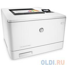 принтер hp color laserjet pro m452dn <cf389a> a4, 27/27 стр/мин, дуплекс, 384мб, usb, lan (замена ce957a m451dn)