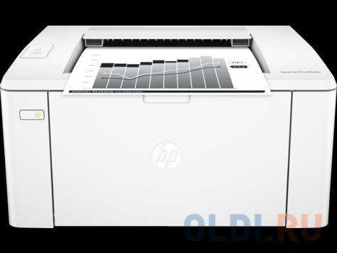 Принтер HP LaserJet Pro M104a RU лазерный Настольный бытовой / черно-белый / 22 стр/м / 600x600 dpi / A4 / USB