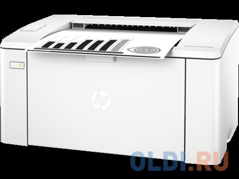 принтер hp laserjet pro m104w ru <g3q37a> a4, 22 стр/мин, 128мб, usb, wifi (замена ce658a p1102w)