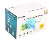 Точка доступа D-Link DAP-1620/RU/A1A Беспроводной двухдиапазонный повторитель АС1200