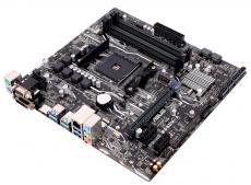 Материнская плата ASUS PRIME B350M-A (AM4, AMD B350, 4*DDR4, 1*PCI-E 3.0x16, 2xPCIe 2.0x1, SATA3, DVI-D, D-SUB,HDMI,  2xUSB3.1, 4xUSB 3.0, Lan, mATX, Retail)