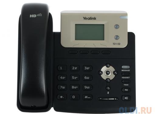 Телефон VoIP Yealink SIP-T21 E2 SIP-телефон, 2 линии