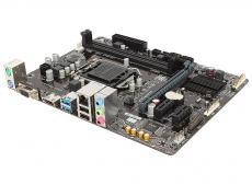 Материнская плата GIGABYTE GA-H110M-H <S1151, iH110, 2*DDR4, PCI-E16x, SVGA, HDMI, SATA III, GB Lan, USB3.0, mATX, Retail>