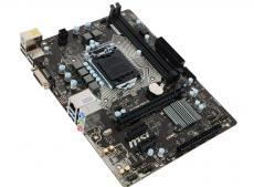 Материнская плата MSI H110M PRO-D (S1151, H110, 2DDR4, PCI-E16x, DVI, SATA III, GB Lan, USB3.0, ATX, Retail)
