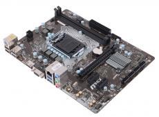 Материнская плата MSI H110M PRO-VH (S1151, H110, 2*DDR4, PCI-E16x, D-SUB, HDMI, SATA III, GB Lan, USB3.0, mATX, Retail)