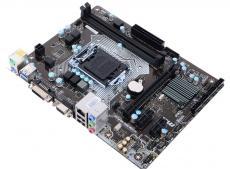 Материнская плата MSI H110M PRO-VD PLUS (S1151, H110, 2*DDR4, PCI-E16x, D-SUB, DVI, SATA III, GB Lan, USB3.0, mATX, Retail)