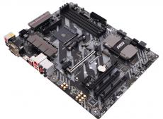 Материнская плата MSI B350 TOMAHAWK (AM4, AMD B350, 4*DDR4, 2*PCI-E16x, HDMI, DVI, D-SUB, SATAIII+RAID, M.2, GB Lan, USB 3.1Gen1, ATX, Retail)