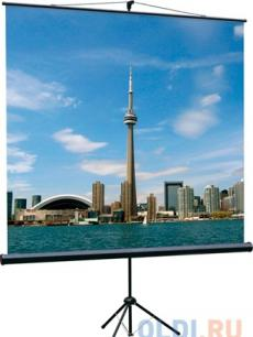 [LEV-100102] Экран на штативе Lumien Eco View 180x180 см Matte White с возможностью настенного крепления