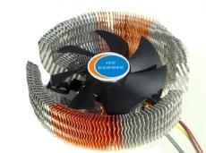 Кулер для процессора Ice Hammer IH-3476WV (SocketAM2/939/LGA775/1366, AlCu, 20-28 dB)
