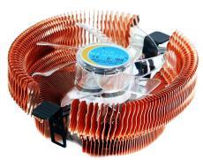 Кулер для процессора Ice Hammer IH-3776WV-R (SocketAM2/LGA775/1366, Cu, Neon Red)