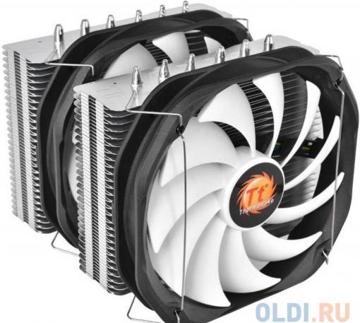 Кулер для процессора Thermaltake Frio Extreme Silent 14 Dual (CLP0587-B) 2011/1366/1150/1155/775/AM3/AM2/FM1/FM2