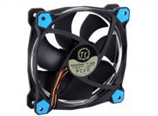 Вентилятор Thermaltake Riing 12 LED 120mm Blue + LNC (CL-F038-PL12BU-A)