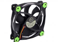 Вентилятор Thermaltake Riing 12 LED 120mm Green + LNC (CL-F038-PL12GR-A)