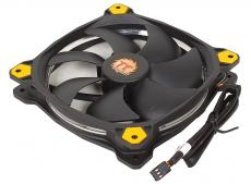Вентилятор Thermaltake Riing 14 LED 140mm Yellow + LNC (CL-F039-PL14YL-A)