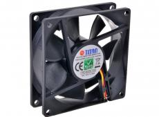 Вентилятор TITAN TFD-8025L12S 2000rpm 80x80x25 (sleeve)