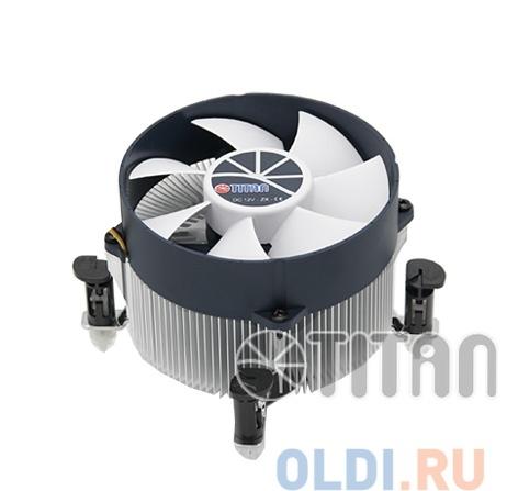 кулер для процессора titan ttc-na02tz/rpw/cu30 до 130w, для intel lga 1150/1155/1156, 95x95x66, 4-pin pwm, 900-2600 rpm, <14 - 33 dba
