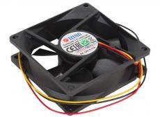 Вентилятор TITAN TFD-8025M12B , 80x80x25 мм, two ball, 2500 RPM, (28 dBA