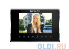 Видеодомофон Falcon Eye FE-70M BLACK цветной, сенсорные кнопки, 7 дюймов Возможности подключения: 2 вызывные панели, 2 камеры, до 4 мониторов в систем