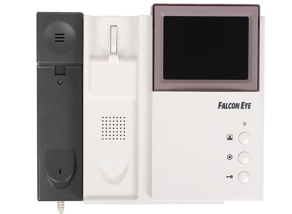 Комплект видеодомофона Falcon Eye FE-4CHP2/AVP-505 темно-серая