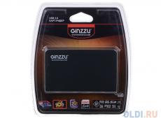 Картридер Ginzzu GR-336B Black