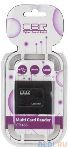 картридер cbr cr-456 black