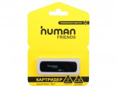 Картридер Human Friends Speed Rate Rex, USB 3.0, черный цвет, поддержка карт: T-flash, Micro SD, SD, SDHC