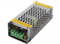 Блок питания ORIENT PB-20U2, OUTPUT: 12V DC 10A, стабилизированный, защита от КЗ и перегрузки (Imax~11A), регулятор напряжения, 2 выхода, металлически