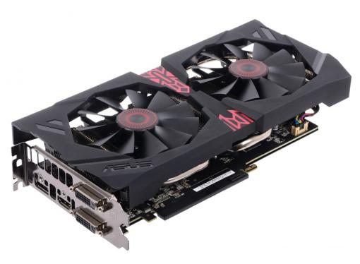 видеокарта 2gb <pci-e> asus strix-r9380-dc2-2gd5-gaming <r9380, gddr5, 256 bit, dvi*2, hdmi, dp, retail (strix-r9380-dc2-2gd5-gaming)>