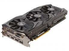 Видеокарта 8Gb (PCI-E) ASUS STRIX-GTX1080-A8G-GAMING (GFGTX1080, GDDR5, 256 bit, DVI, HDMI*2, DP*2, D5X, Retail (STRIX-GTX1080-A8G-GAMING))