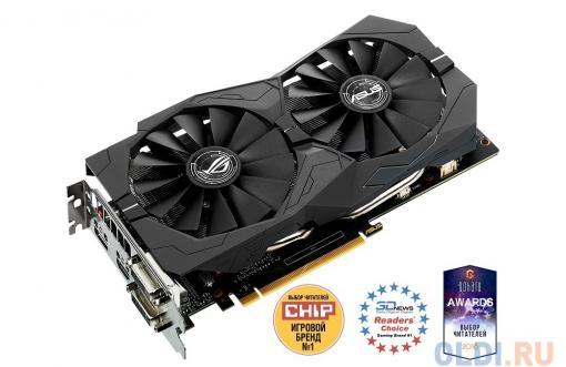 Видеокарта ASUS STRIX-GTX1050-O2G-GAMING 2Gb 1455MHz NVIDIA GTX1050/GDDR5/7008/128 bit/PCI-E/ DVI DP HDMI
