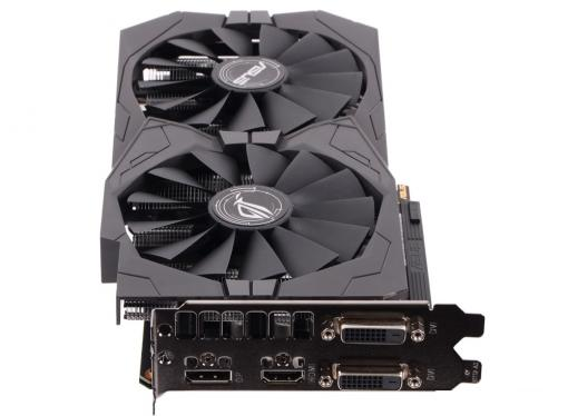 видеокарта 2gb <pci-e> asus strix-gtx1050-2g-gaming <gtx1050, gddr5, 128 bit, dvi*2, hdmi, dp, retail (strix-gtx1050-2g-gaming)>